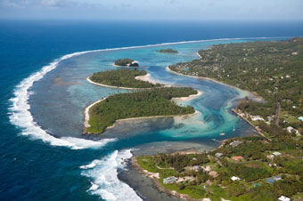 Cook Islands aerial